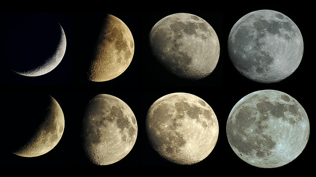 Becoming a Supermoon....