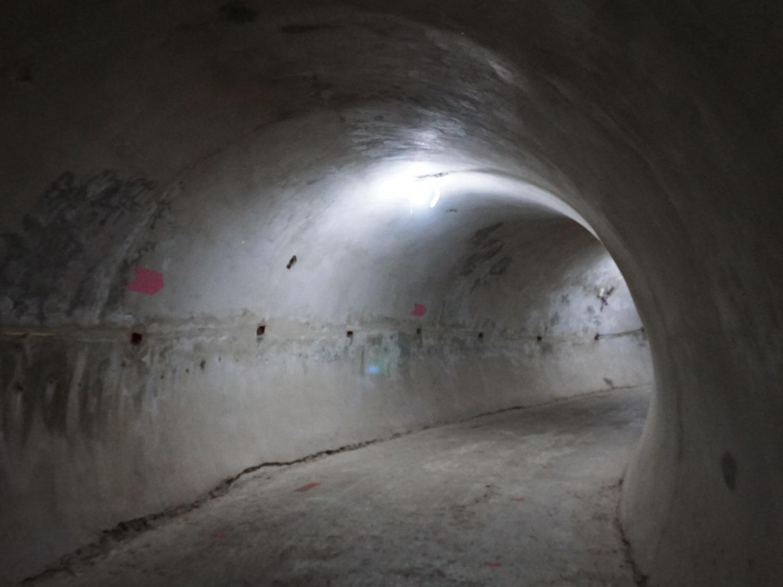 Dragon Temple tunnel Bangkok