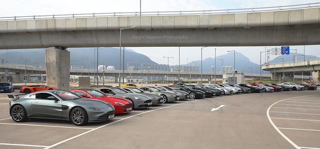 Aston Martin, Vantage / DB9 / Vanquish, Chek Lap Kok, Hong Kong