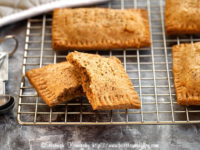Cheesy Broccoli Toaster Tarts