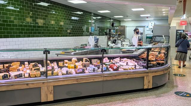 The new deli counter at Morrisons on Preston Docks