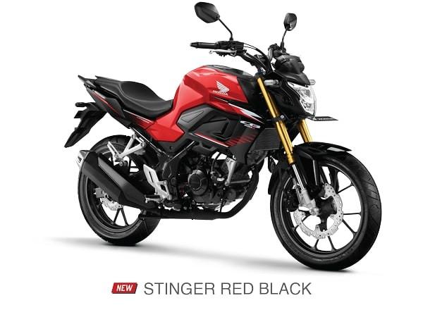 Honda CB150R Stinger Red Black