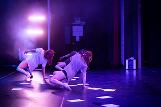 Barton Dance Theatre dancers perform on stage
