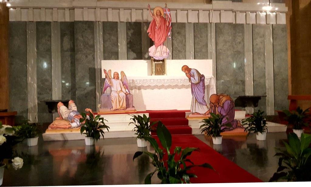 2021, Scena Pasquale S. Maria Regina degli Apostoli