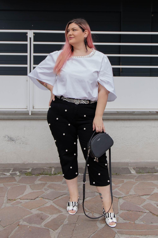 Curvy Color Challenge bianco e nero (4)
