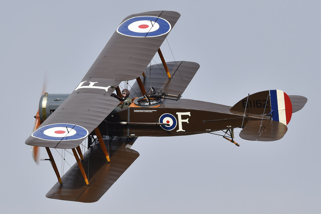 Bristol F2b Fighter 'B1162 / F' (G-AEPH / D8096)