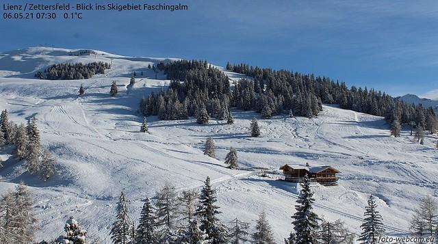 frischer Mai - Schnee 2021