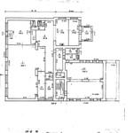 Владимира Мономаха князя улица, 1 - План 1 этажа 1970 PAPER600 [Вандюк Е.Ф.]