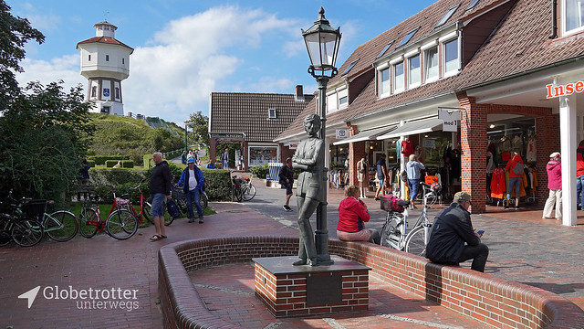 Langeoog | Wasserturm, Lale-Andersen-Denkmal
