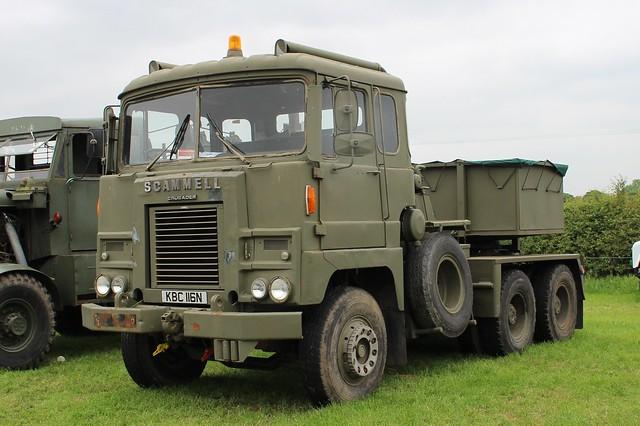 228 Scammell Crusader (1975) KBC 116 N