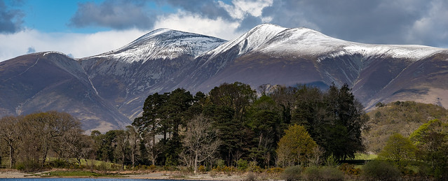 Skiddaw with Snow