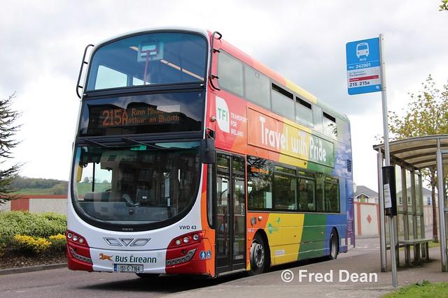 Bus Eireann VWD43 (151C7164).