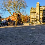 Sunlit and shadows in the centre of Preston