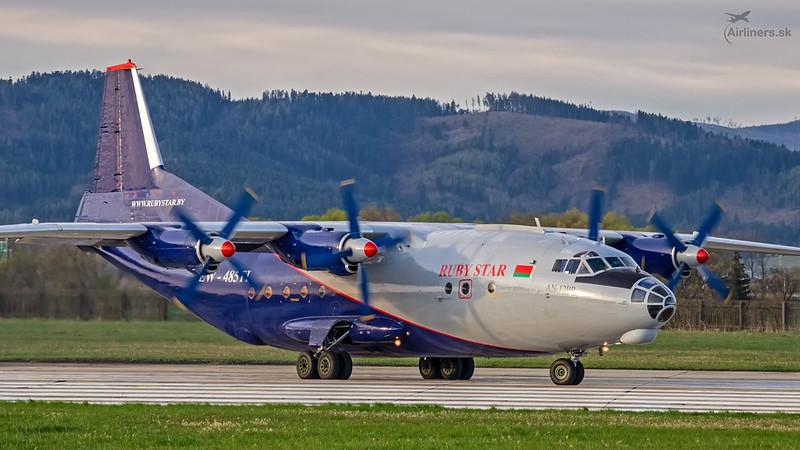EW-485TI Rubystar Antonov An-12BP