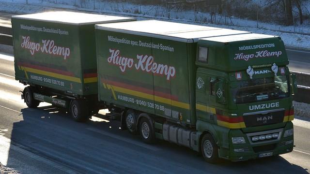 D - Möbelspedition Umzüge Hugo Klemp MAN TGX