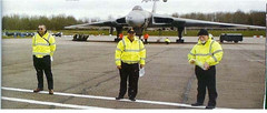 Starting Fod Plod along runway April 2008 ready for display Season (John, Bob, Trevor)