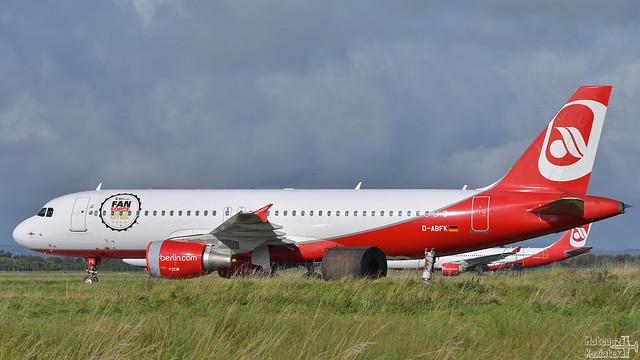 Air Berlin 🇩🇪 Airbus A320-200 D-ABFK