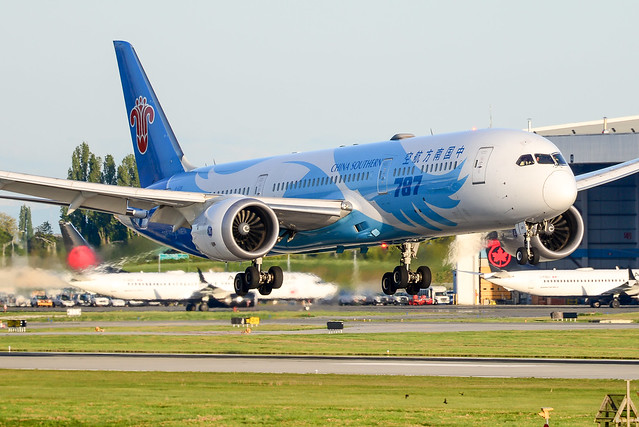 CYVR - China Southern Airlines B787-9 Dreamliner B-1128