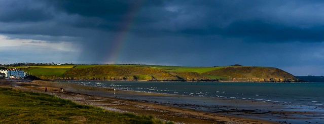 youghal strand with rainbow [Explored May 06, 2021]