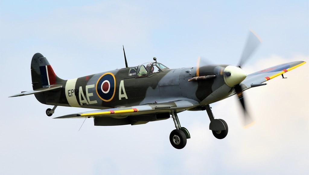RAF Supermarine Spitfire LF MkVb Spitfire EP120 G-LFVB AE-A 402 Squadron City of Winnipeg RCAF