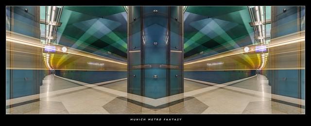 MUNICH METRO STATION FANTASY