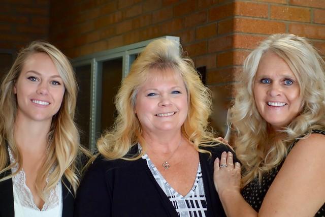 DSC03052  Karen's daughter, Chris & Karen