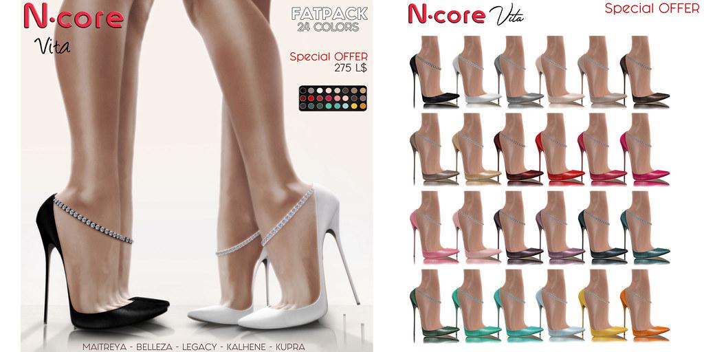 N-core VITA Special OFFER! FatPack 24 colors
