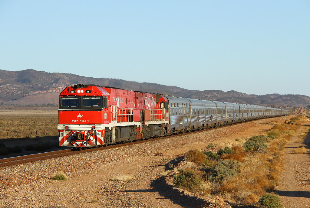 The Striking Ghan by David Arnold