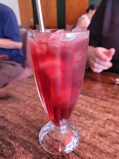 Rosella Iced Tea at U-Tong Thai