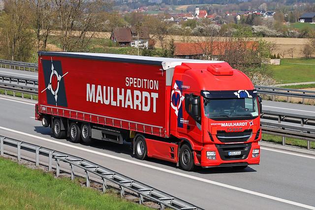 Iveco Stralis  Spedition Maulhardt