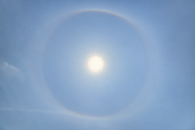 *solar halo*