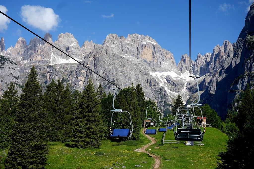 ITALIEN, Italy,  Blick Richtung Brenta-Gebirge(Dolomiten), 79051/13662