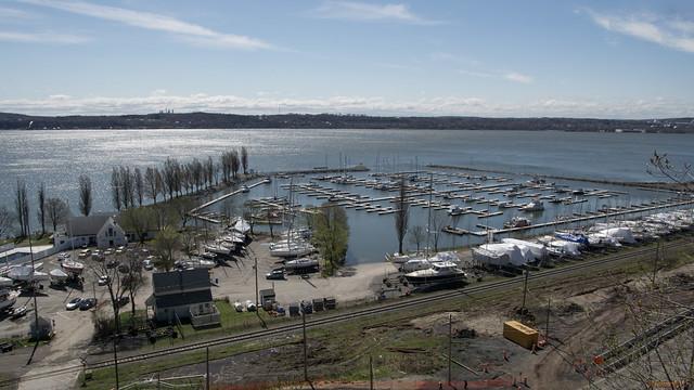 Marina de Sillery au printemps, Québec, PQ, Canada - 6432