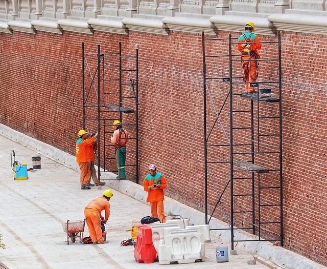 Men at work