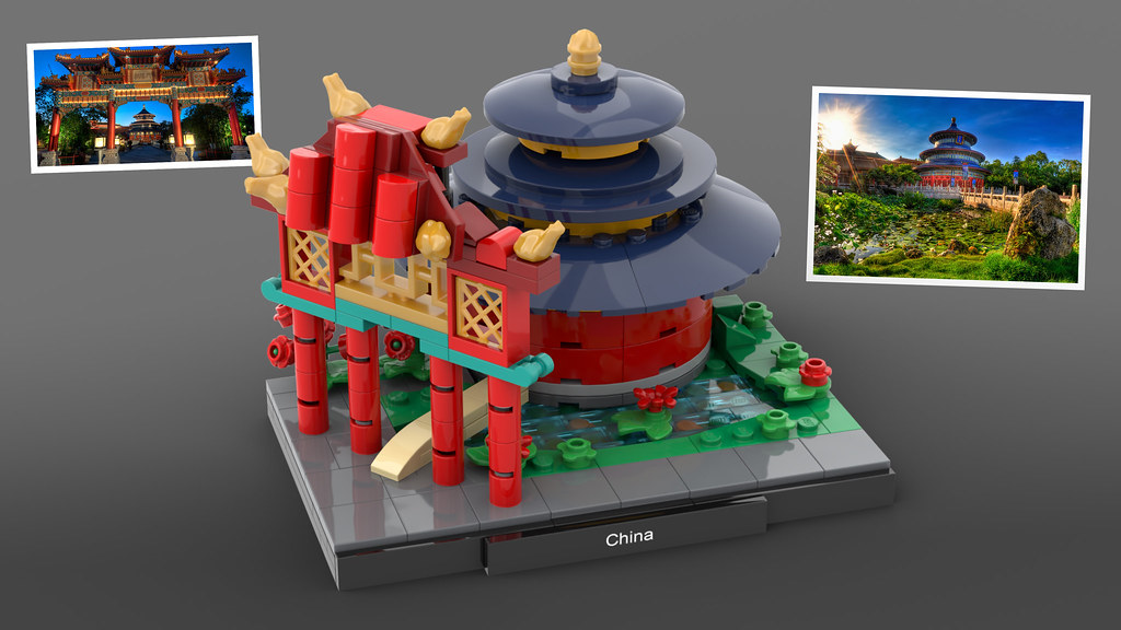 LEGO Epcot China