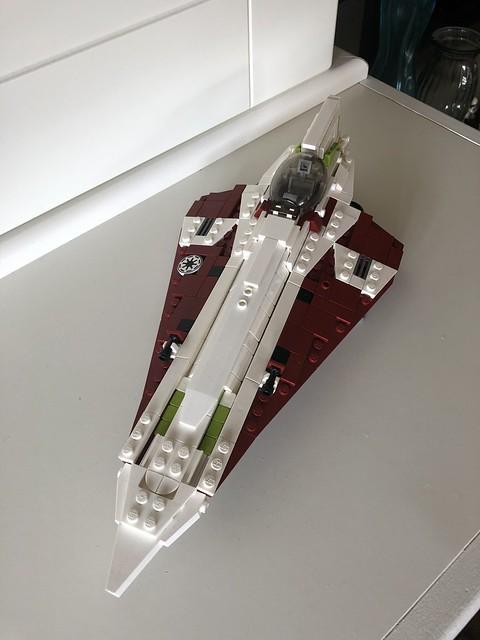 Obi Wan's Delta-7 MOC