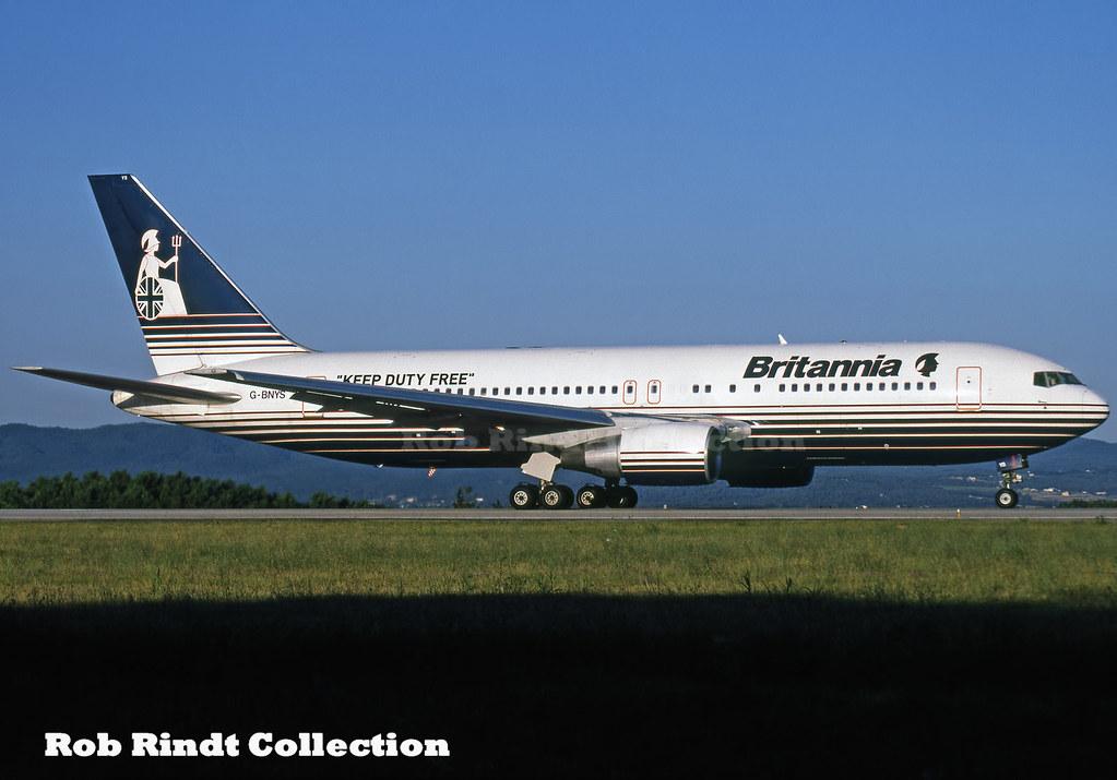 Britannia B767-204/ER G-BNYS