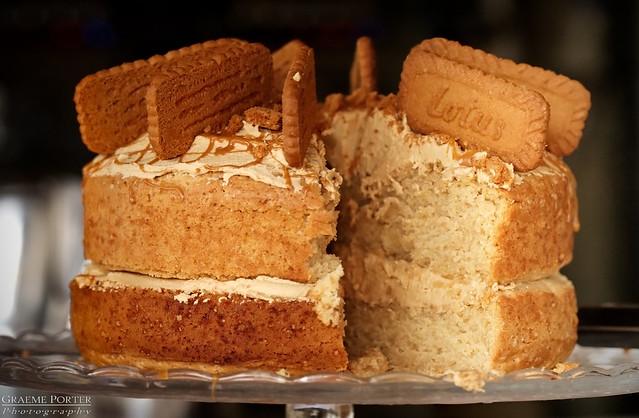 Biscoff Cake - Edited