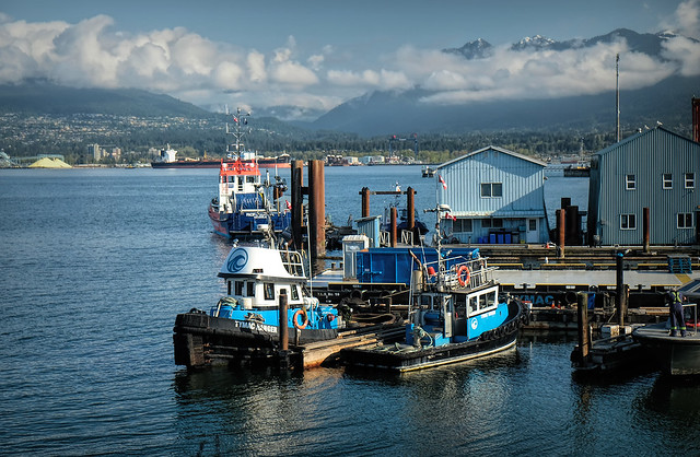 Tug Boats in Vancouver, Canada