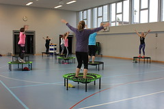 Trampolin Workout
