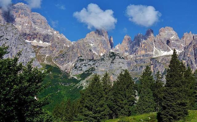 ITALIEN, Italy,  Blick Richtung Brenta-Gebirge(Dolomiten), 79049/13660