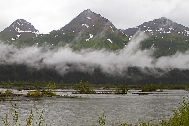 River Scene Near Valdez