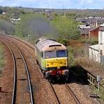47830 light engine at Accrington