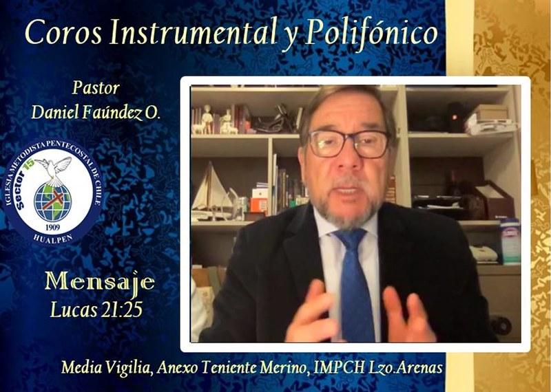¡Buscar a Dios, pues su venida está cerca! Confraternidad Coro Hualpén y Anexo Teniente Merino de IMPCH Lorenzo Arenas
