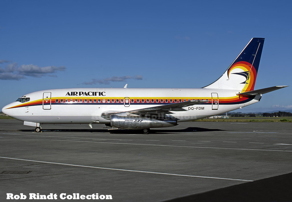 Air Pacific B737-2X2/Advanced DQ-FDM