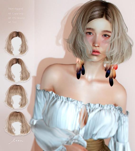 tram K0425 hair