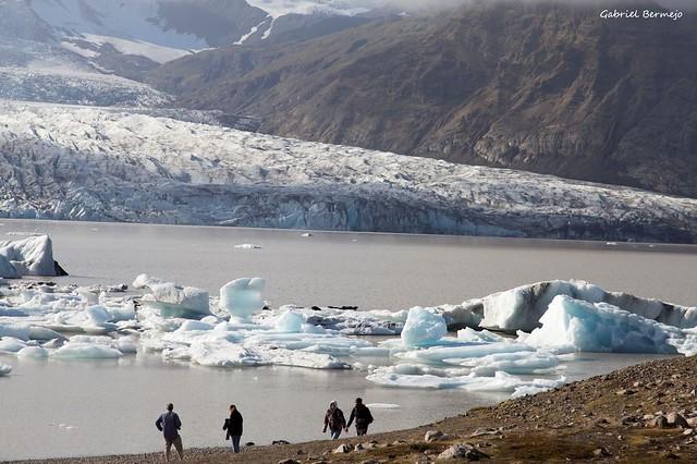 Un mundo de hielo y frio - Islandia