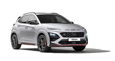 Kona N is not only the latest addition to Hyundai's growing high-performance N lineup but is also the first N model with an SUV body style.