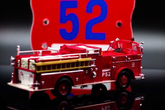 firetruck rear view