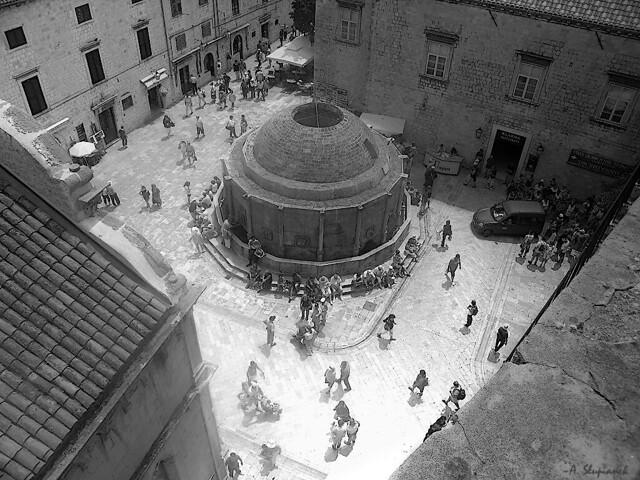 Dubrovnik in gray